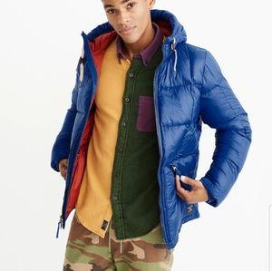 Warm puffer-jacket